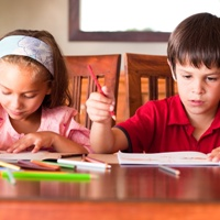 two-children-homework